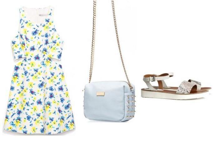 modna stylizacja na wiosnę