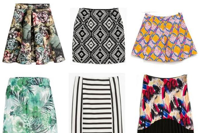 modne spódnice wiosna 2014