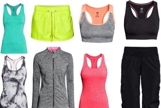 sportowe ubrania H&M wiosna 2014