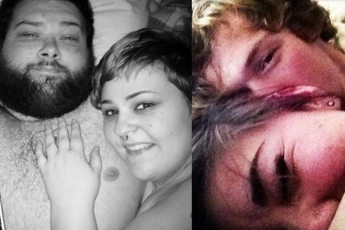 Zdjęcia robione tuż po seksie