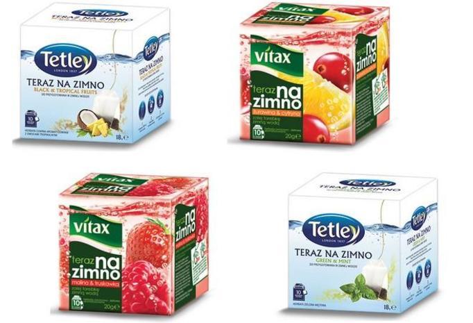 herbata na zimno Tetley i Vitax