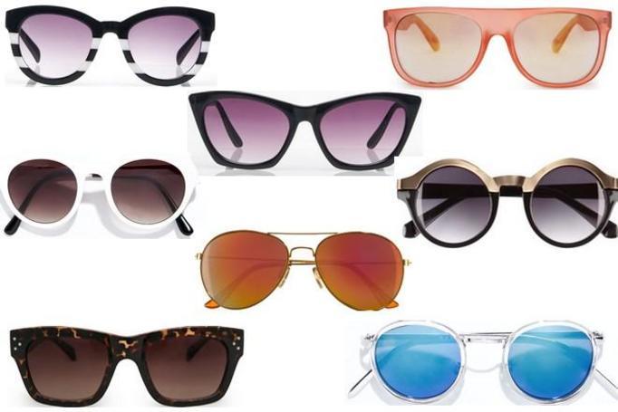 okulary przeciwsłoneczne lato 2014