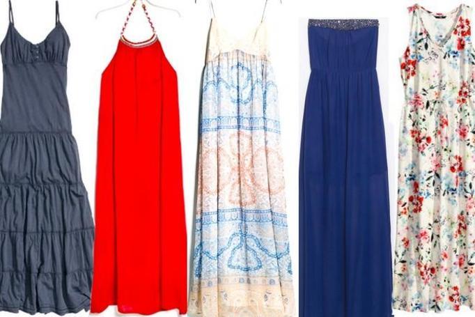 długie sukienki lato 2014