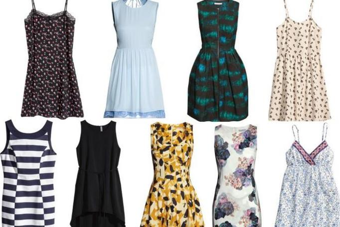 sukienki H&M lato 2014