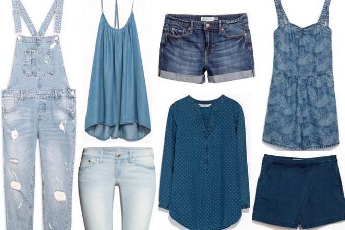dżinsowe ubrania lato 2014
