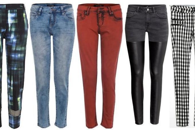 modne spodnie jesień 2014