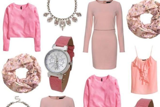 różowe ubrania lato 2014