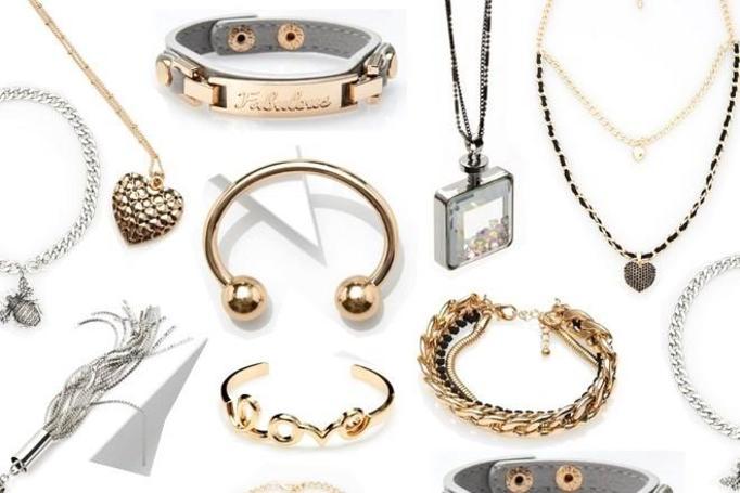 biżuteria z MOHITO
