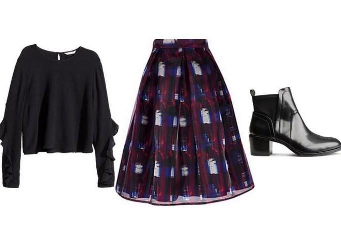 modna stylizacja jesień 2014