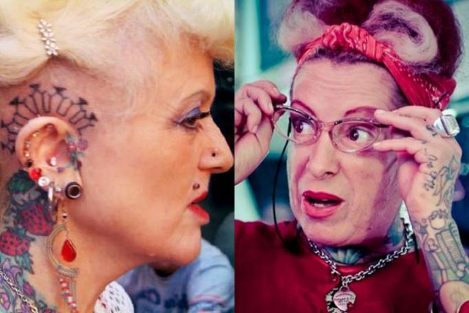 tatuaż na starość