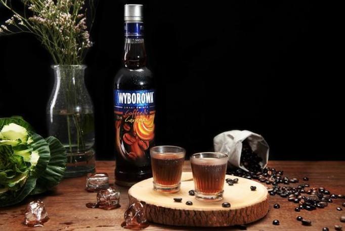 Wyborowa Smaki Świata Coffee&Caramel.
