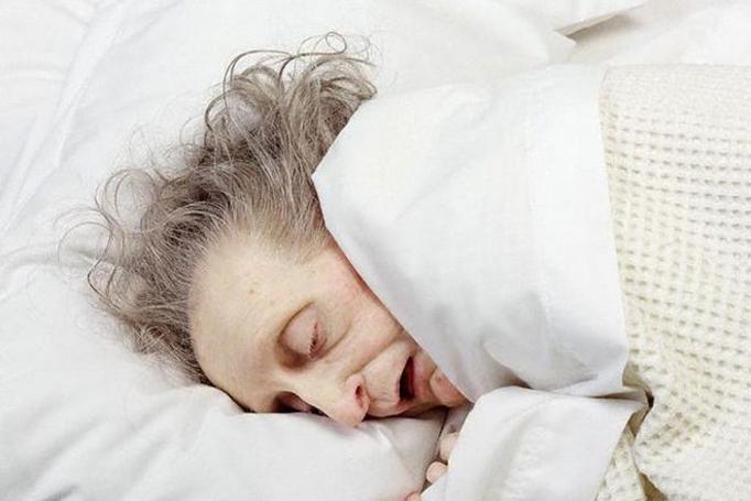 chora babcia