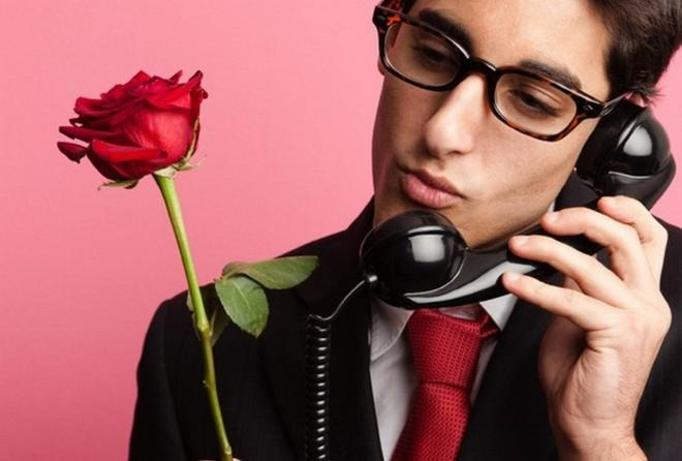 kwiaty od mężczyzny