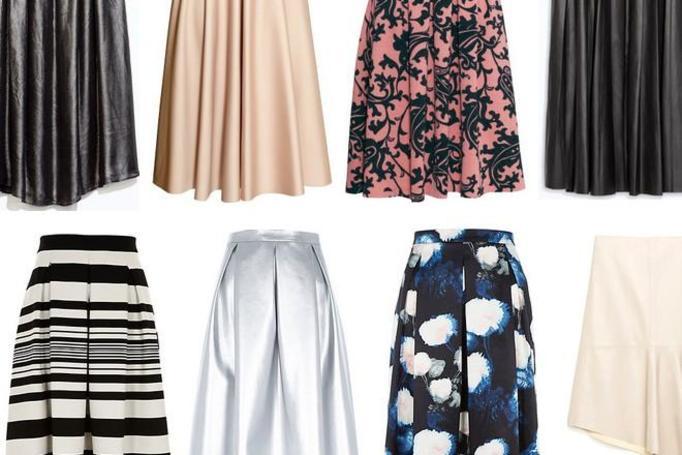 modne spódnice zima 2014/2015