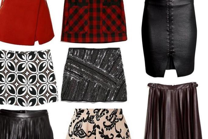 modne spódnice zima 2015
