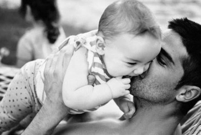 tata z dzieckiem
