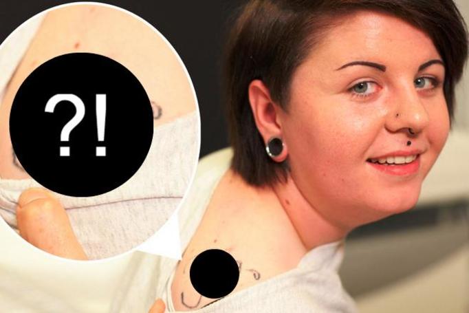 wstydliwy tatuaż