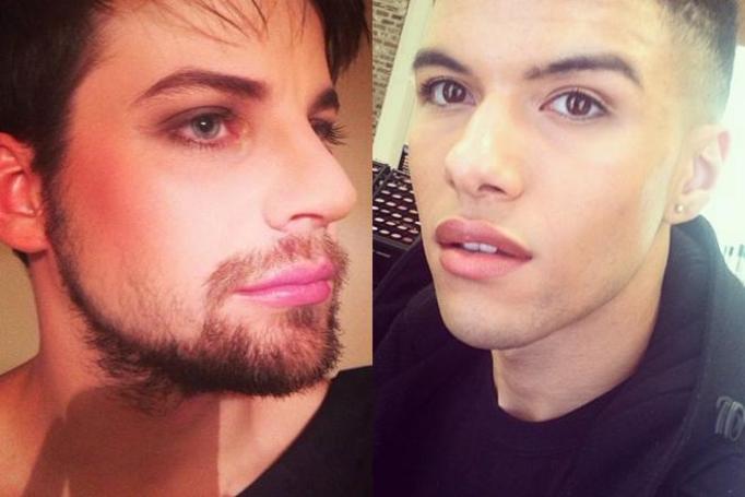 Męski makijaż