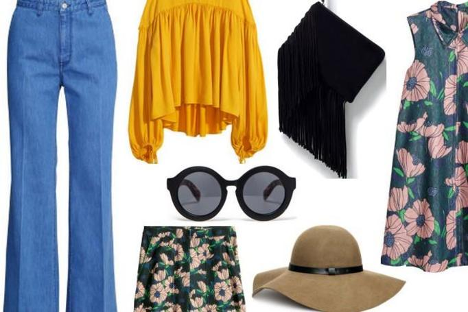 ubrania w stylu lat 70-tych