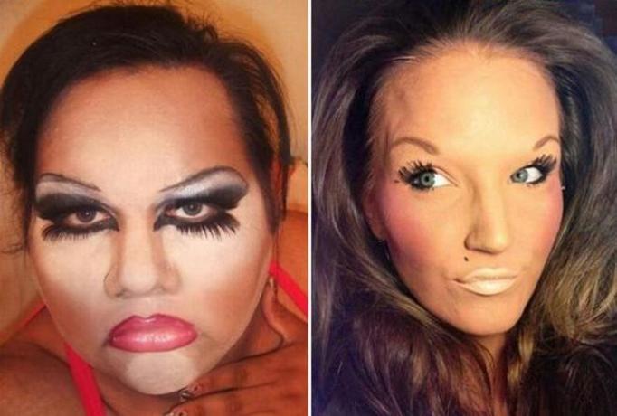 makijażowe wpadki
