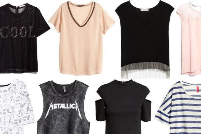 modne t-shirty wiosna 2015