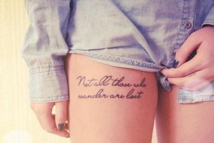 tatuaże cytaty