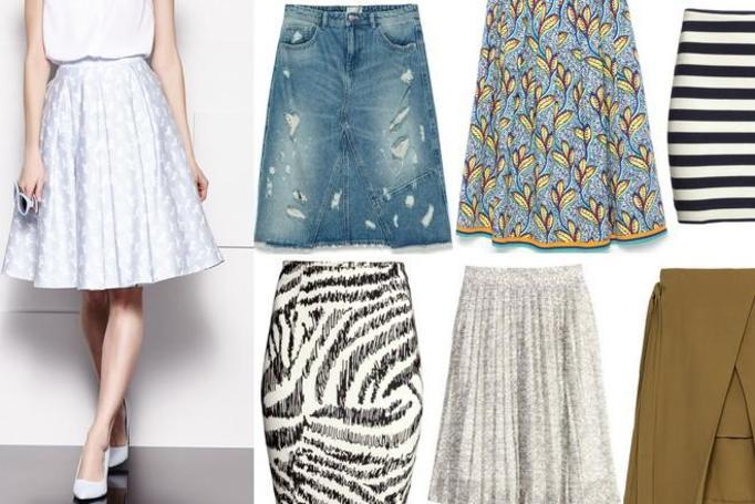 modne spódnice wiosna-lato 2015