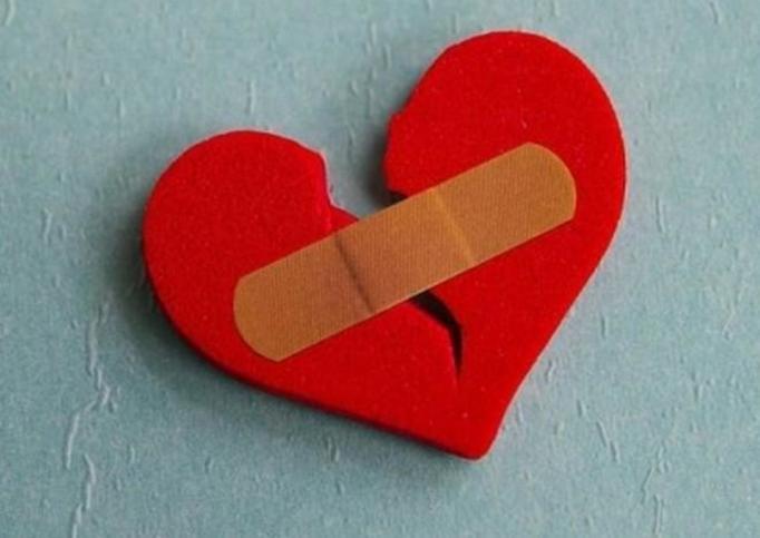 zlamane serce