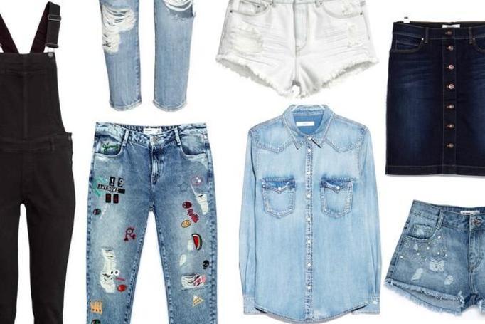 dżinsowe ubrania