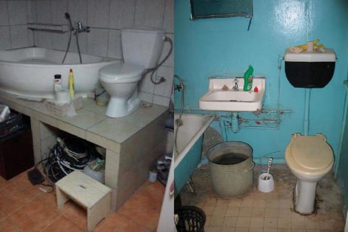 Najbrzydsze łazienki w Polsce