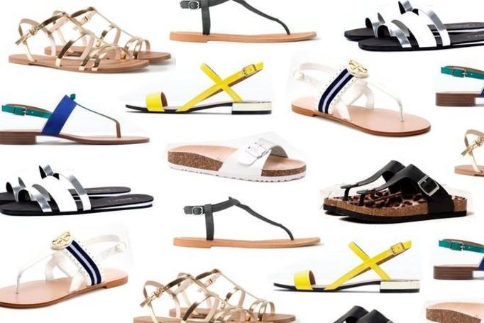 sandałki na lato