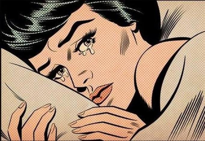 łzy pop art