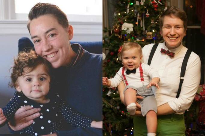 lesbijka z dzieckiem