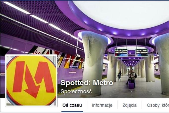 Spotted: Metro