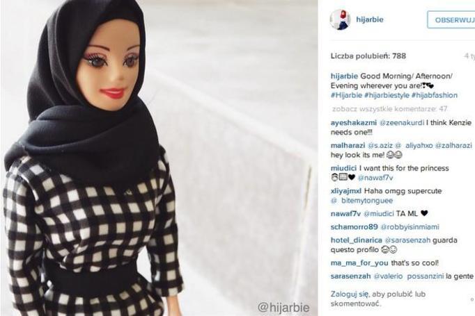 Barbie muzułmanka