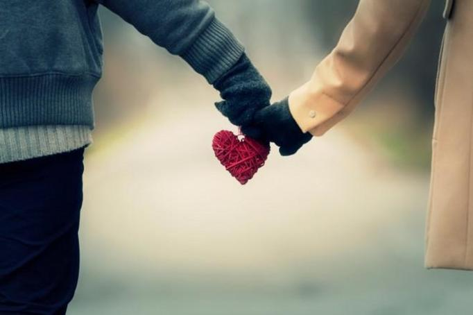zakochany facet