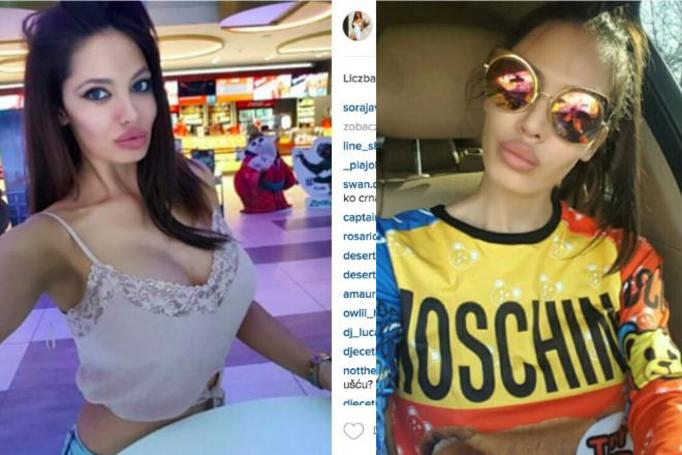 modelka z instagrama