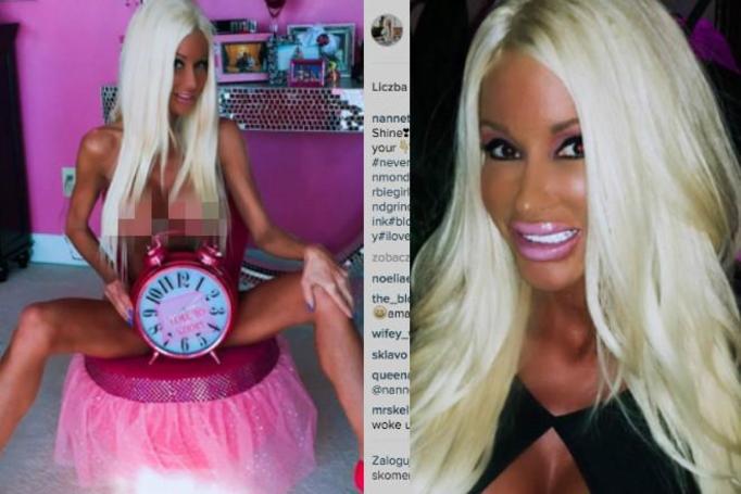 żywa lalka barbie
