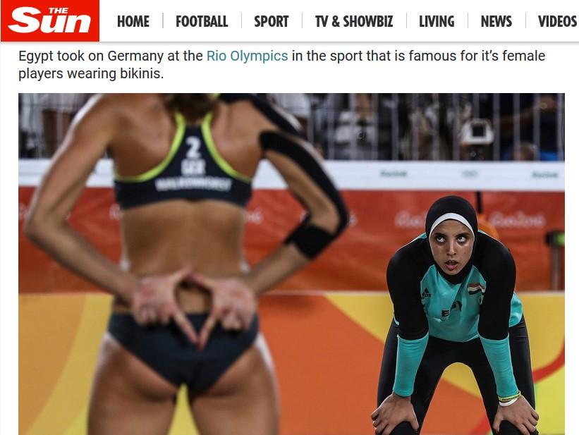 Siatkarki z Egiptu w Rio 2016