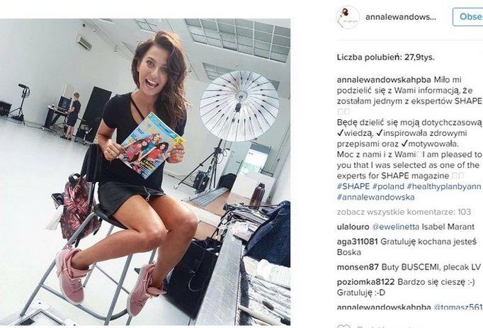 Anna Lewandowska SHAPE