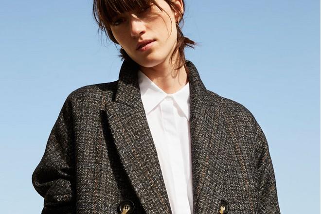 płaszcz luźny