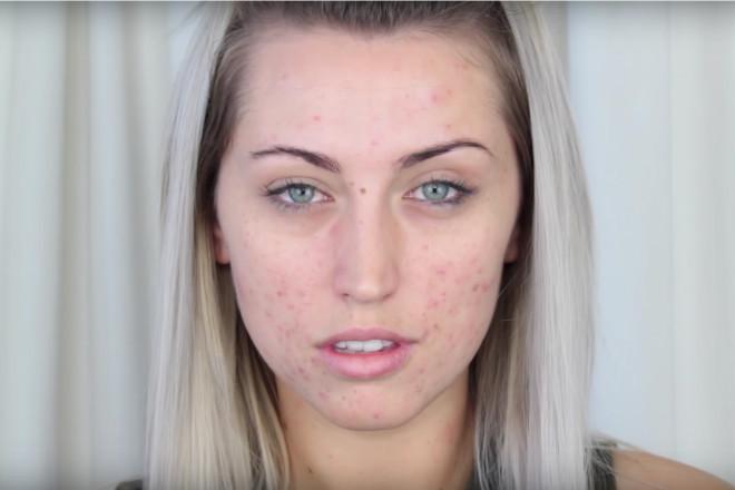 przed i po makijażu