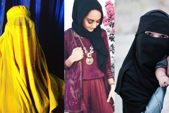 muzułmański strój