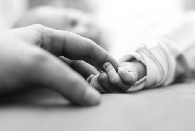 zdeformowany płód dziecka