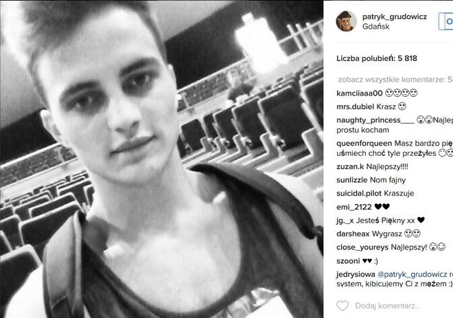 Patryk Grudowicz Instagram
