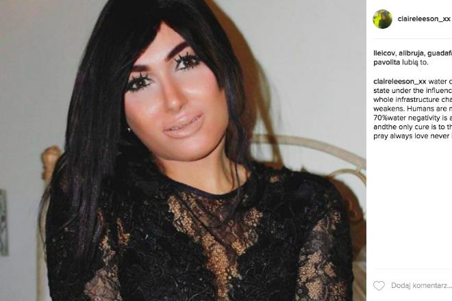 sobowtór Kim Kardashian