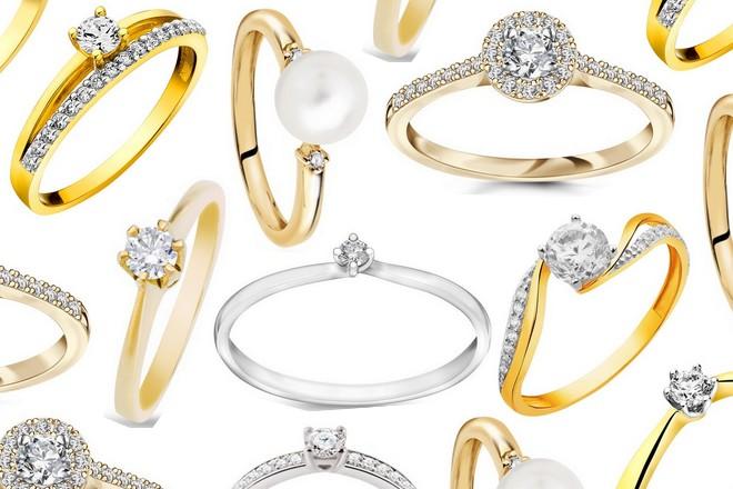 Pierścionki zaręczynowe 2017