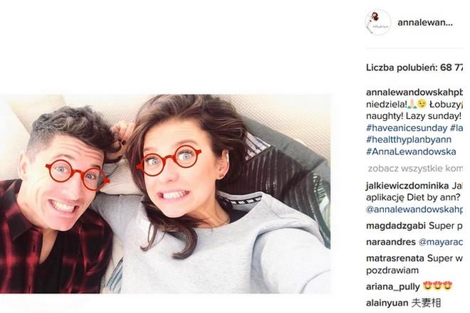 Lewandowska instagram