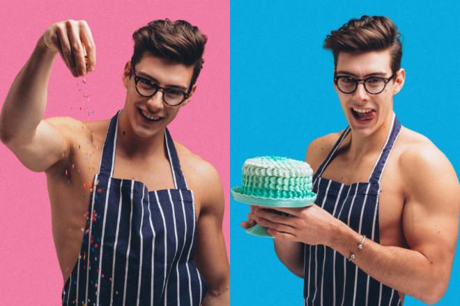 Matt Adlard Topless Baker