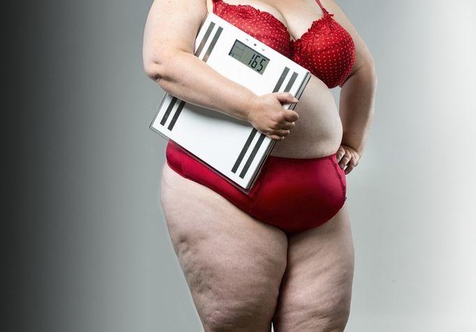 córka z nadwagą